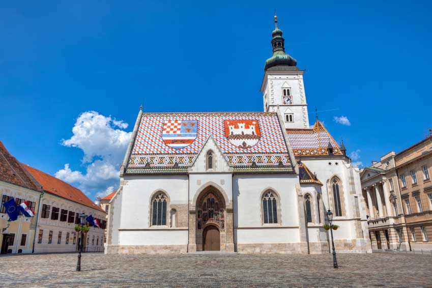 This image has an empty alt attribute; its file name is Zagreb-Upper-Town-St-Marks-Adventures-Croatia.jpg