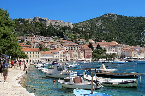This image has an empty alt attribute; its file name is Adventures-Croatia-Hvar-Town-Spanish-Fort-Harbor.jpg